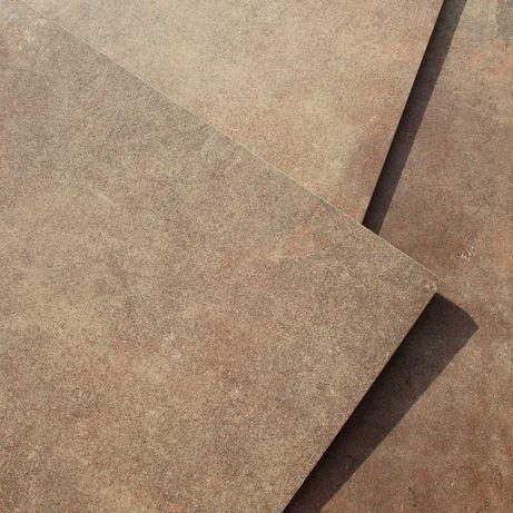 Płytki Podłogowe Ścienne Gres Danzig Brown 60x60 Rett