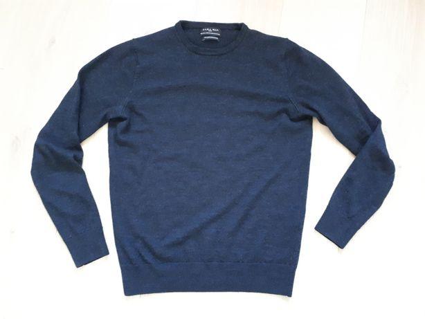 Zara Man sweter wełna