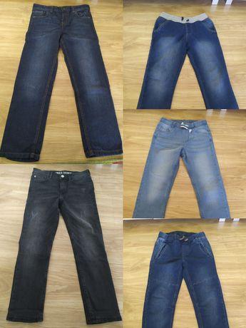 Zestaw spodnie dla chłopca rozmiar 134 stan bdb/idealny
