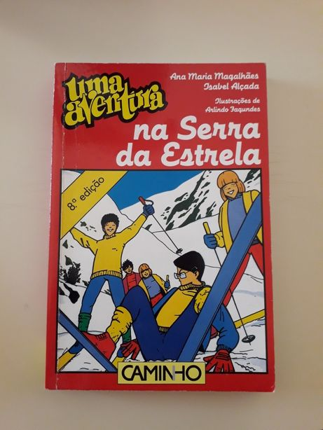 """Livros """"Uma Aventura"""""""