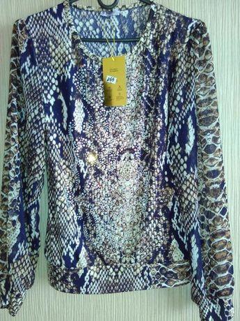 Блузка со стразами SWAROVSKI и камнями