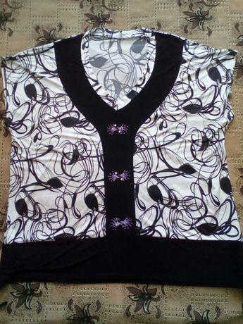 Женская блуза большой размер