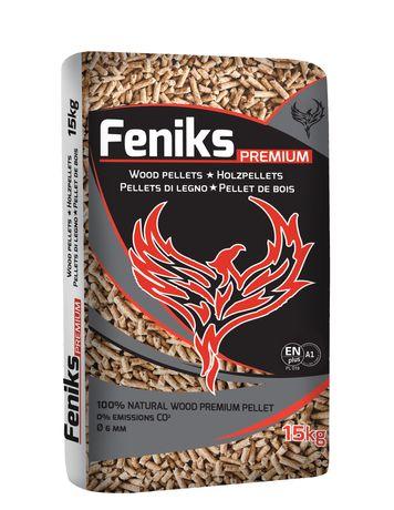 Pellet Premium sosnowy 6mm Feniks drzewny Transport 840 zł