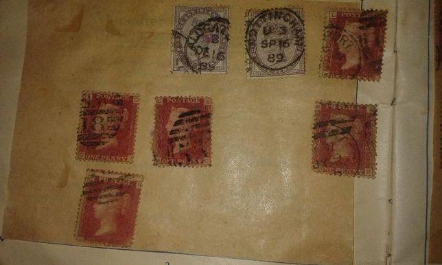 cenne znaczki stara anglia i inne