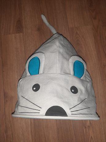 Шуршащий домик для кота мышь