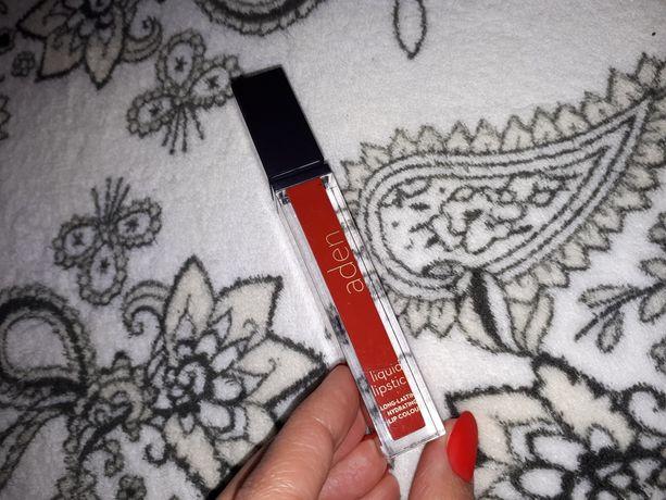 Матовая помада Aden #21 морковный для ярких красоток!
