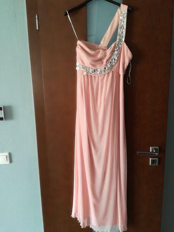 Sukienka Długa suknia jedno ramię
