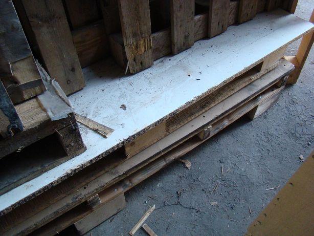 Palety, platformy, płyty wiórowe 4cm i inne materiały drewniane -