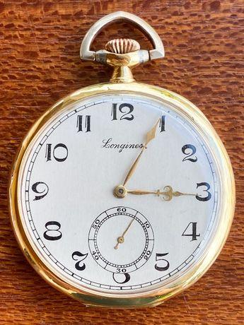 Relógio de bolso Longines em OURO