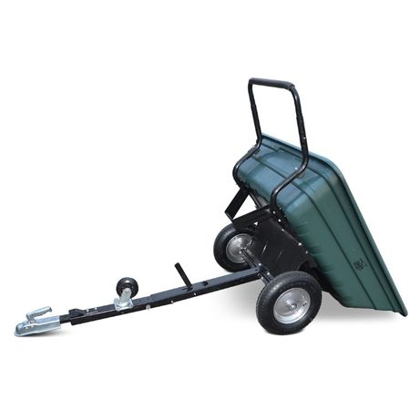 Przyczepa i taczka ogrodowa 2 w1 do atv quada traktorka kosiarki SHARK