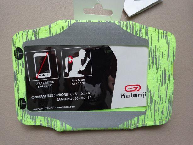 Opaska na ramię na smartfon do biegania Kalenji Bynight nowa