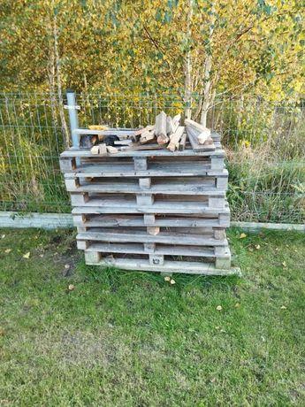 Drewno po budowie, palety na opał, drewno opałowe