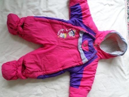 Дешево! Детская одежда Зимний комбинезон для девочки