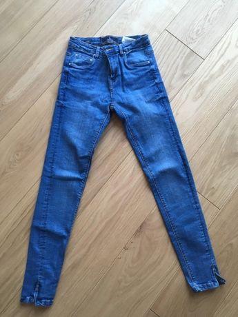 Jeansy spodnie rurki skinny Medicine XS