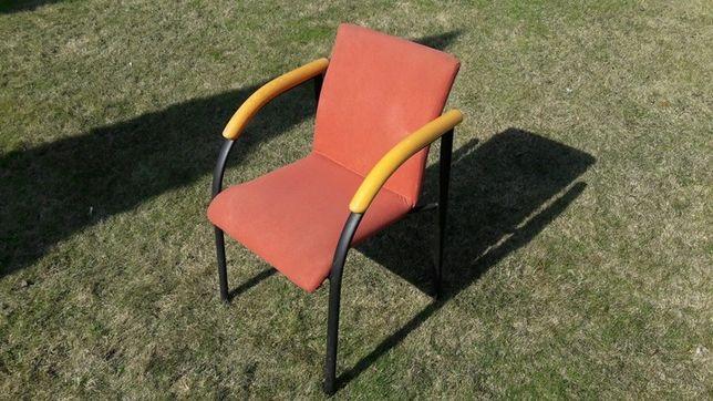 Krzesła biurowe, konferencyjne, do poczekalni - 4 szt.