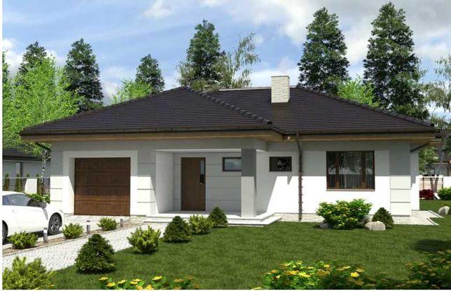Dom jednorodzinny parterowy z garażem 126,8 m2 Małęczyn, Gózd, Radom