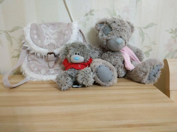 Мягкая игрушка Братья Теди с сумочкой