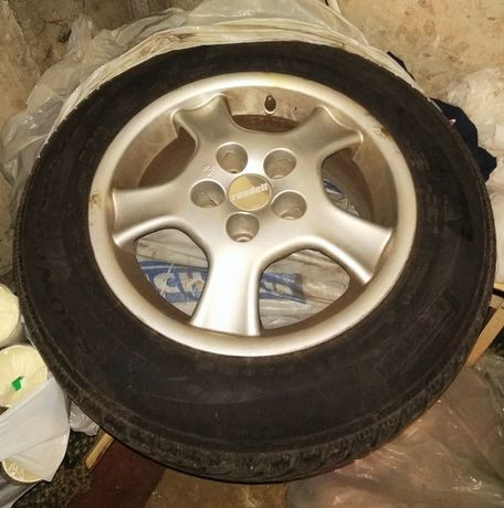 Alufelgi 15' felgi koła Rondell 5x114,3 Hyundai Kia Mazda opony zimowe