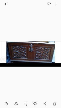 Arca de madeira