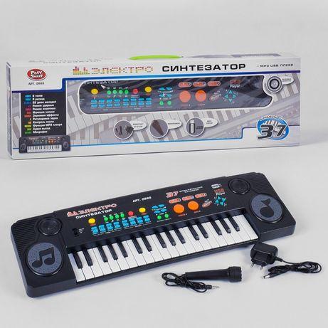 Пианино электро синтезатор 0888 , 37 клавиш, MP3