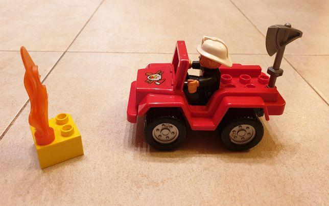 Zestaw LEGO Duplo 6169 - Jeep Straży Pożarnej (Warszawa, Ursynów)