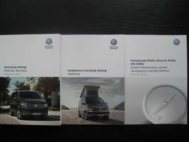 VW T6 Multivan Business California 15-19 Polska instrukcja obsługi