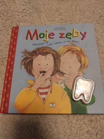 Książka dla dzieci Moje zęby