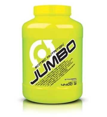 Jumbo 4400g - gainer odżywka białko truskawka