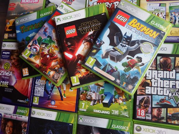 XBOX 350 LEGO Minecraft Just Dance Forza Horizon Need For Speed GTA 5