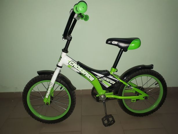 """Детский велосипед crossride 16"""" в состоянии нового"""