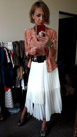 spódnica ASOS 32 34 36 max elegancji i stylu solejka plisy liu jo