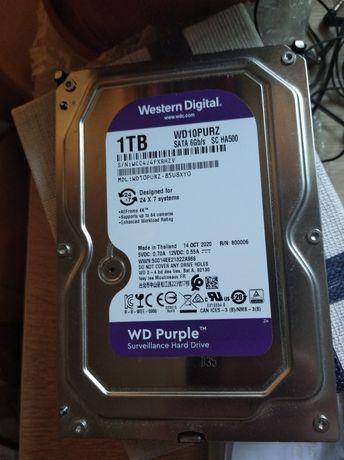 Жёсткий диск внутренний wdc hdd sata 1 TB + адаптер hdd-usb 3.0