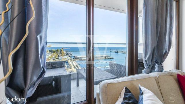 Apartament z pięknym widokiem na morze