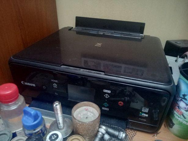 Принтер, сканер МФУ цветной печати Canon PIXMA TS6140 c Wi-Fi