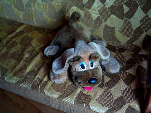 Мягкая игрушка,детская игрушка,собака.(56x48x28 см.)