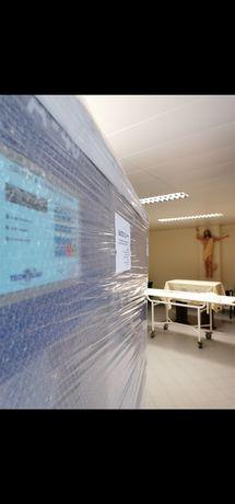Lavandaria hospitalar 45kg higienização Covid-19