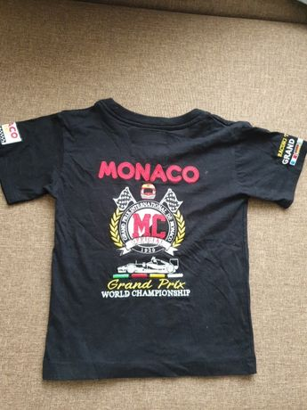 Футболка Monako Grand Prix на мальчика 5-7лет