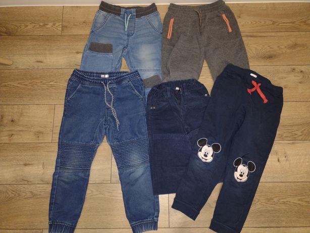 Spodnie dresowe joggery 5 par