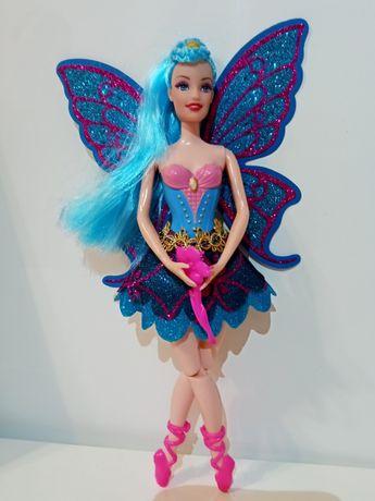 Lalka baletnica, elf, wróżka ze skrzydłami-NOWA na prezent, urodziny