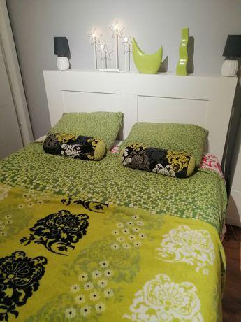 Pościel IKEA zielona koc poduszki dekoracyjne