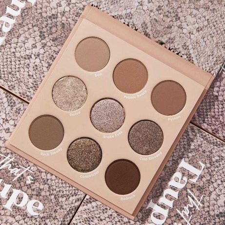Colourpop - That,s Taupe paleta cieni do powiek