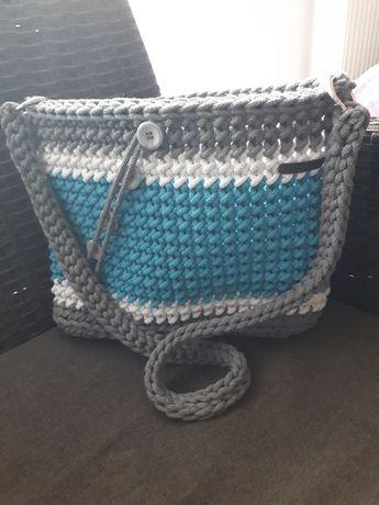 Torebka listonoszka handmade