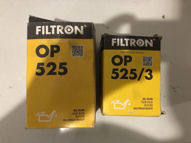 Filtry oleju Filtrona nowe! 525 i 525/3