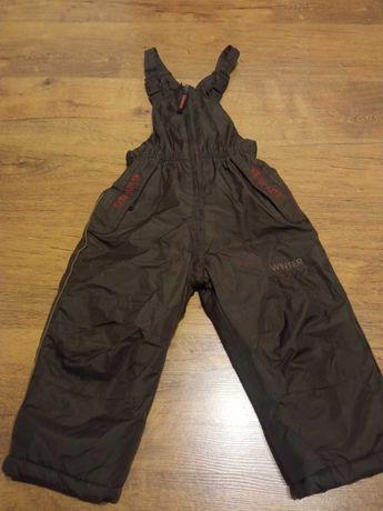 Zimowe spodnie  dla chłopca rozm 98