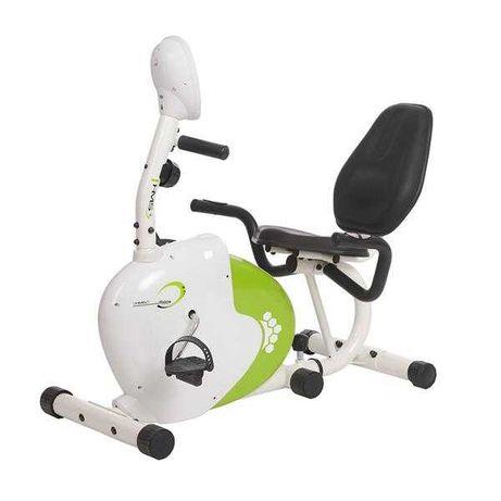 Rowerek magnetyczny R9259* POZIOMY biało-zielony