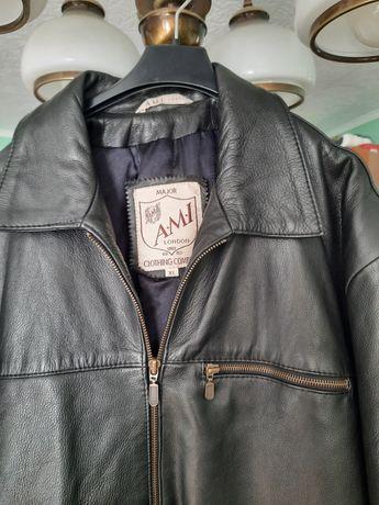 Skórzana kurtka XL