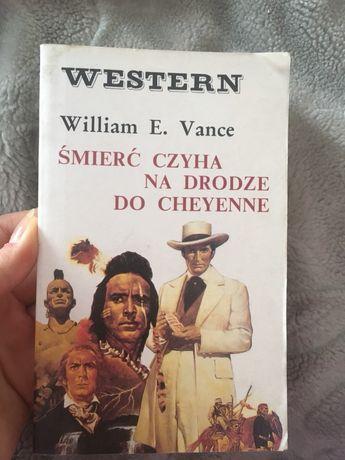 Śmierc czyha na drodze do Cheyenne książka