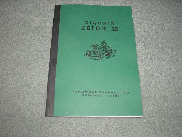Zetor 25- instrukcja, opis techniczny