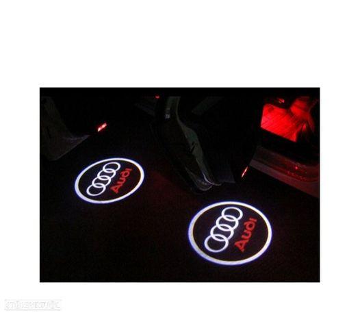 KIT PROJECTOR LED LOGO / AUDI PARA PORTAS