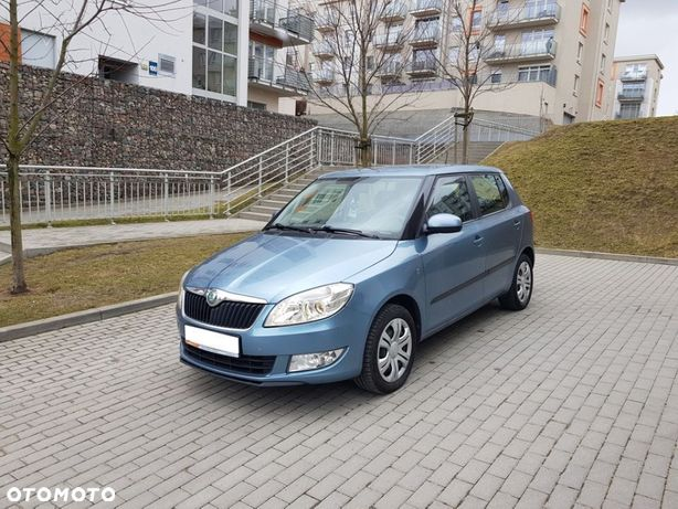 Škoda Fabia LIFT 1.2 TDI 75 KM Klimatyzacja Serwis Stan BDB Auto z Gwarancją !!!